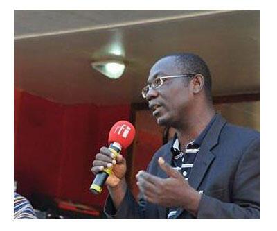 Augustin Loada, professeur de droit constitutionnel et de science politique à l'université Ouaga 2, ancien ministre de la Fonction publique dans le gouvernement de transition.