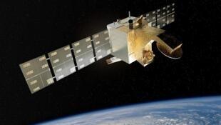 Illustration du satellite CFOSat.