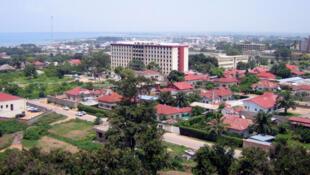 Une vue de Bujumbura, ancienne capitale du Burundi.