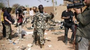 Wasu 'Yan jarida a kasar Mali