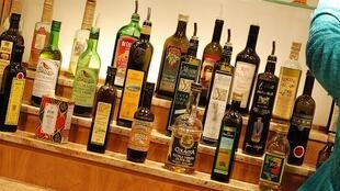 An olive oil bar