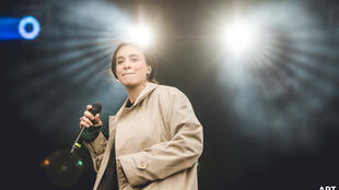 Camélia Jordana au festival Art Rock.