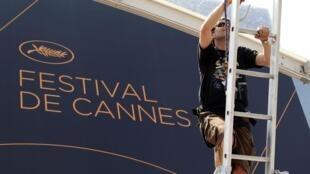 Todo listo en Cannes
