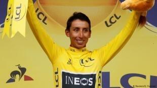 Vô địch vòng đua xa đạp Tour de France 2019, Egan Bernal.