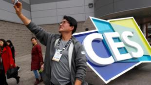 Le Consumer Electronics Show 2018 (CES), au Las Vegas Convention Center, lundi 8 janvier 2018.
