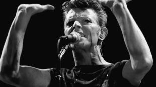 David Bowie en Francfort (1983).