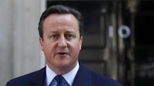 O primeiro ministro britânico David Cameron, no dia 24 de junho 2016
