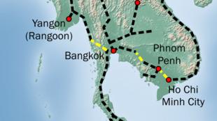 Tuyến đường sắt Côn Minh-Singapore