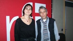 Marie Pauline Gacoin et Jean-Yves Casgha