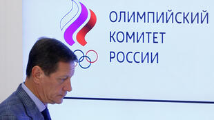 Russian Olympic Committee (ROC) president Alexander Zhukov.