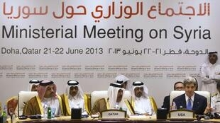 The Friends of Syria conference in Doha