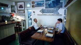 Tom informal marcou encontro de Barack Obama com primeiro-ministro canadense Justin Trudeau em Montreal no mês de junho.