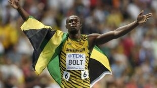 Usain Bolt will face stiff competition to retain his sprint titles at next month's world championships in Beijing.