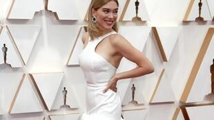 Французская актриса Леа Сейду на красной дорожке Оскара-2020