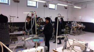 Inside Les Atelières' workshop