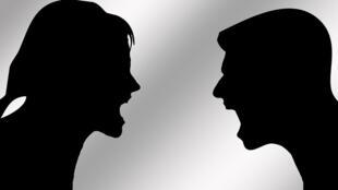 La dispute dans le couple.