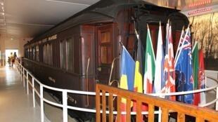 Bảo tàng Compiègne lưu trữ toa xe lửa, nơi ký lệnh đình chiến 1918