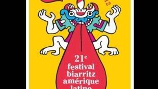 Afiche del Festival Biarritz-América Latina 2012.