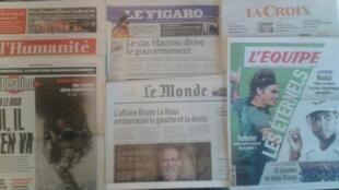 Os jornais franceses desta quarta-feira, dia 22 de Março.