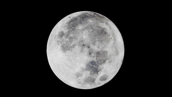 La luna, el 16 de enero de 2014.