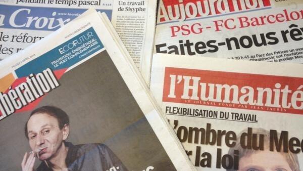 Primeiras páginas diários franceses 2/4/2013