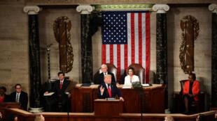 دونالد ترامپ در سخنرانی سالانۀ خود قاسم سلیمانی را «بیرحم ترین قصاب رژیم ایران» دانست