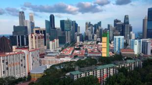 Depuis les années 2000 la méthode de Singapour en mathématiques en séduit une soixantaine de pays. Photo : une vue de Singapour.