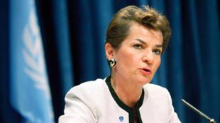 Christiana Figueres, secretaria ejecutiva de la Convención Marco de las Naciones Unidas sobre Cambio Climático.