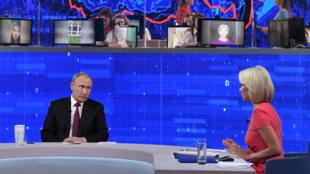 «Прямая линия сВладимиром Путиным». 20 июня 2019