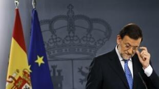 Premiê espanhol, Mariano Rajoy, concedeu uma coletiva de imprensa nesta sexta.