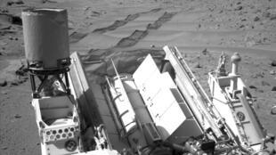 Curiosity sur la planète Mars, le 6 février 2014.
