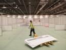 Coronavirus: à Londres, un grand centre de congrès converti en hôpital de 4000 lits