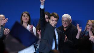 Emmanuel Macron in Normandy on March 4, 2017.