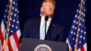 Donald Trump a réagi aux frappes iraniennes contre des bases abritant des soldats américains en Irak. (Image d'illustration)