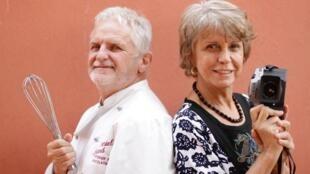 Daniel Briand et sa femme Luiza.