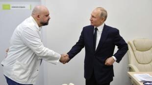 Daktari Denis Protsenko aliyekutana na Putin wiki iliyopita apatikana na virusi vya Corona.