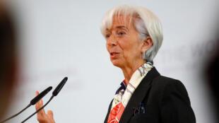 Christine Lagarde, diretora-gerente do Fundo Monetário Internacional