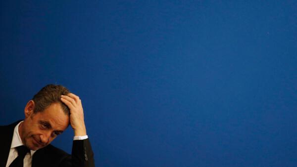 O ex-presidente Nicolas Sarkozy, em foto de 10 março de 2014