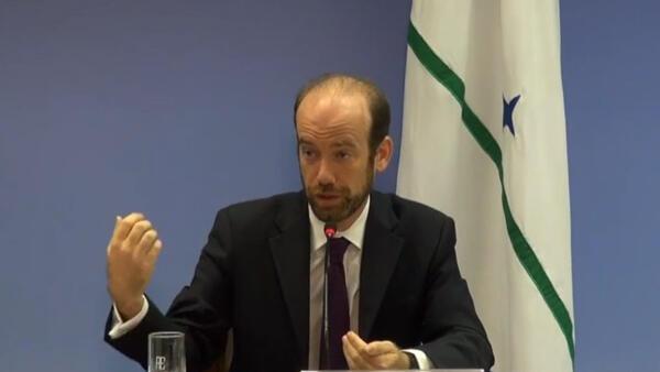 O diplomata Raphael de Azeredo é um dos negociadores do Brasil no acordo climático global.