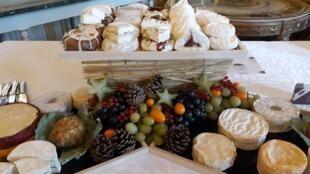 Una muestra de los quesos franceses que serán degustados durante Goût de France.