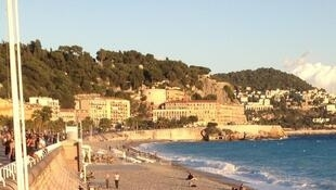 The seafront at Nice, one of the resorts where the theives operated