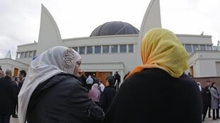 Открытие большой страсбургской мечети 27/09/2012