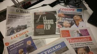 Diários franceses 08.11.2016