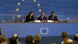 Ministros europeus discutem crescimento da imigração.