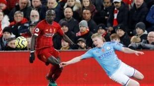 Liverpool face à Manchester City.