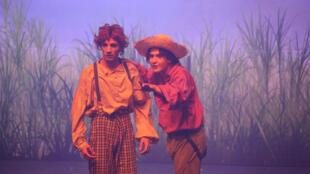 Tom Sawyer, el musical en el Teatro Mogador de París.