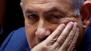 Le Premier ministre, Benjamin Netanyahu à la Knesset, le 30 mai 2019.