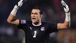 Egyptian goalie Essam El-Hadary