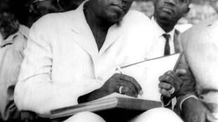 Modibo Keïta, premier président du Mali.