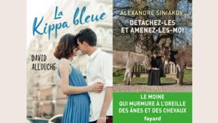 «La Kippa bleue», de David Allouche et «Détachez-les et amenez-les moi», du père Alexandre Siniakov.